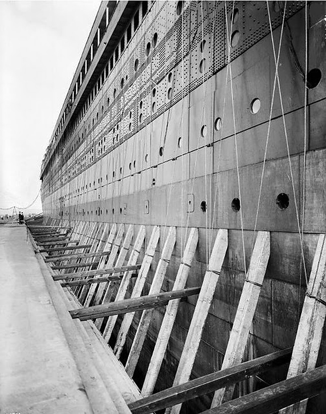 the building of the titanic