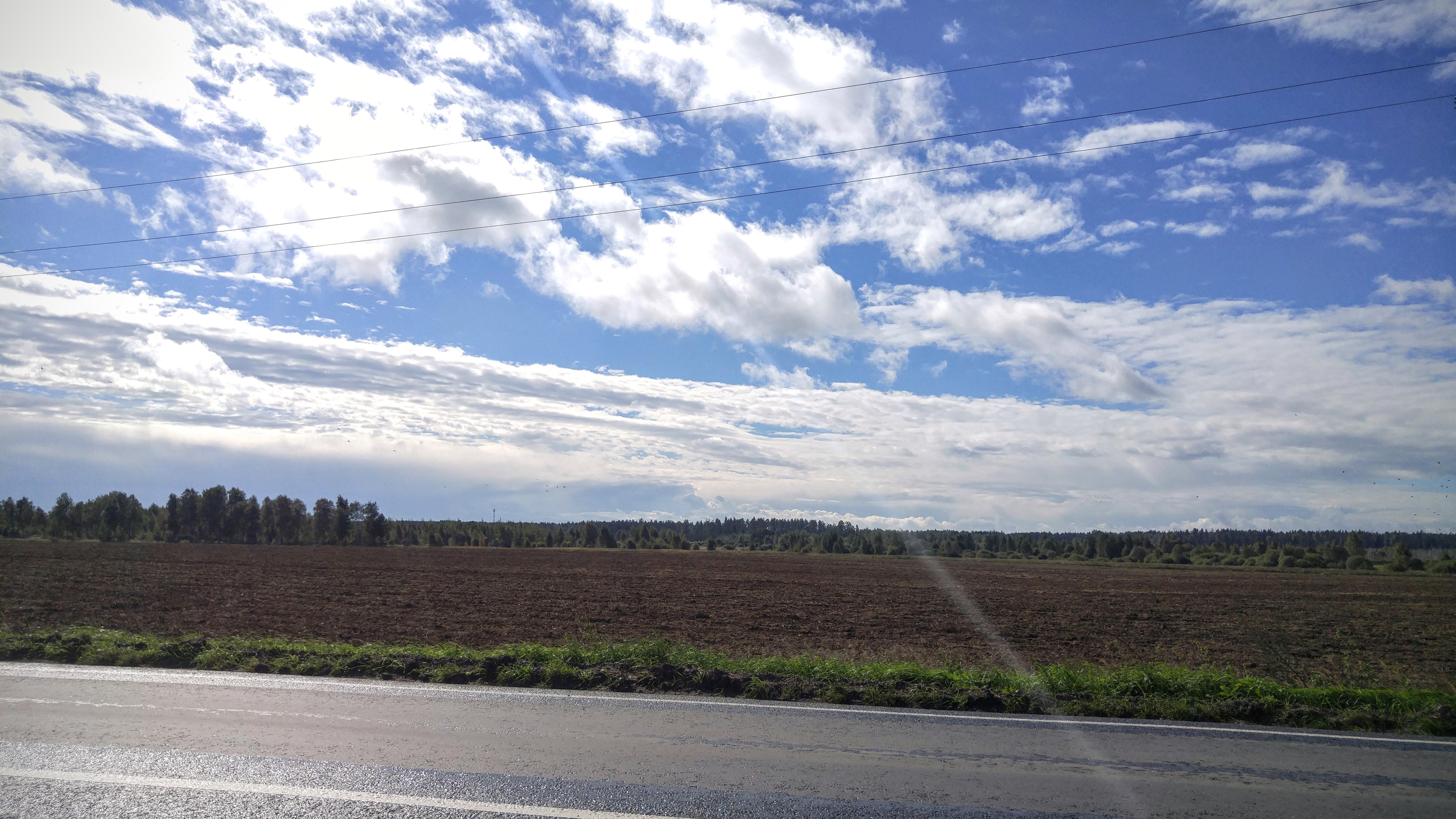 Дорога из Черноголовки во Фряново